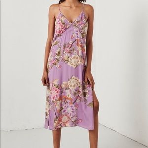 Spell Blue Skies Lilac Slip Dress